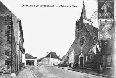 Dammarie-sur-loing_l-eglise-et-la-place-_45121005