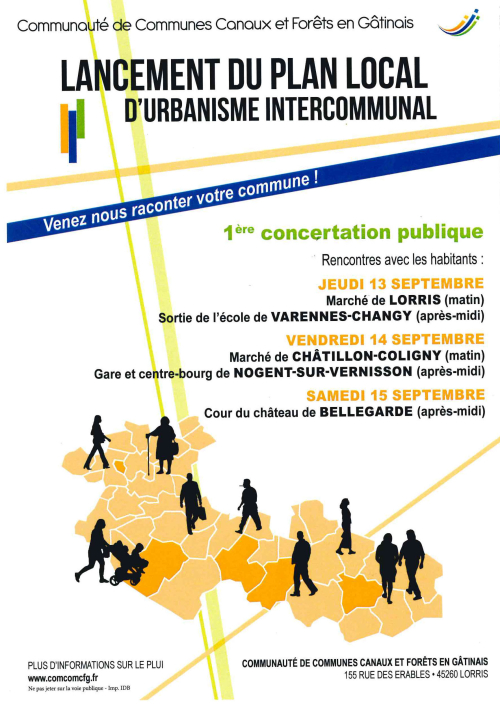 Lancement du plan local d'urbanisme intercommunal